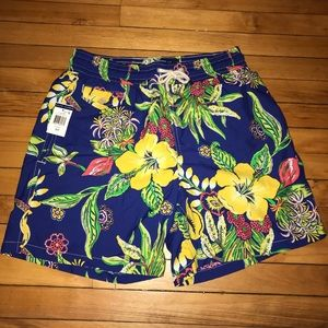 Polo by Ralph Lauren Floral Swim Trunks